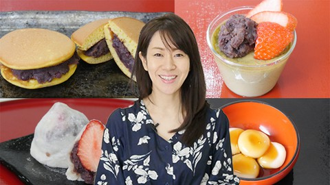 Healthy Japanese Confectionery Cooking Class