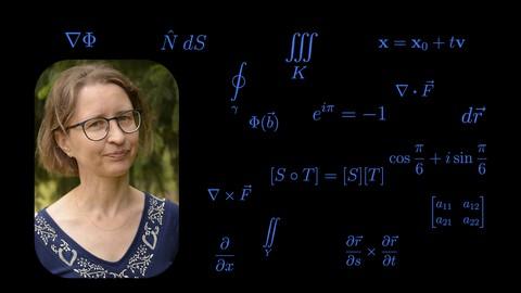 Calculus 3 (multivariable calculus), part 2 of 2.