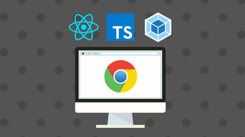 Image for course React & TypeScript Chrome Extension Development [2021]