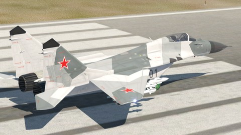 Netcurso-flying-mikoyan-mig-29