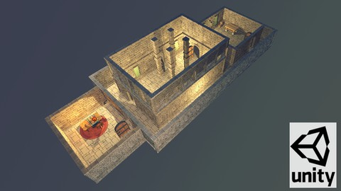 Create a modular dungeon in Unity