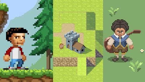 Netcurso-pixel-art-for-video-games