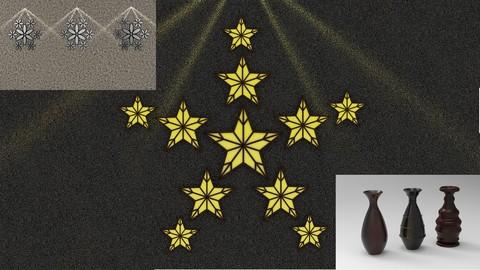 Netcurso-shape-tool-lattice-bevel-and-lathe-modifiers