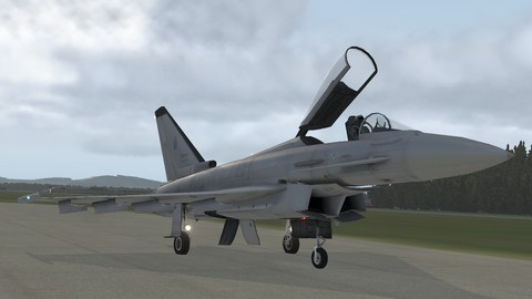 Netcurso-learn-to-fly-euro-fighter-typhoon