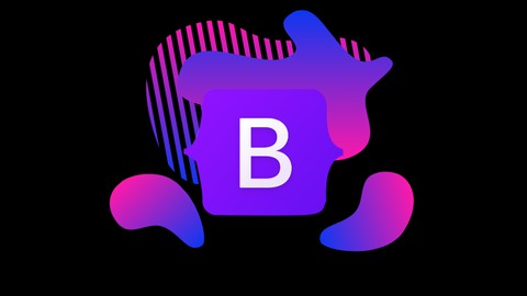 Image for course Bootstrap 5 with 2 projects in Hindi    Urdu