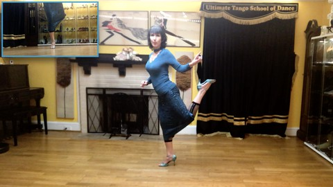 Learn Argentine Tango Choreography - solo or groups dancers