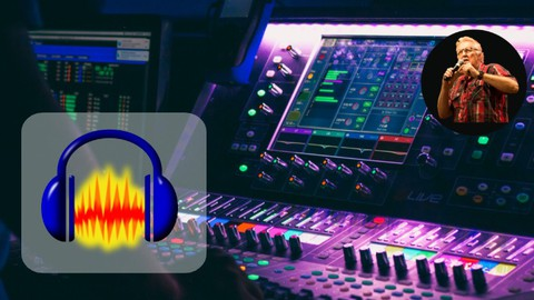 Image for course Audacity Audio Masterclass: Sound Like A Pro With Audacity
