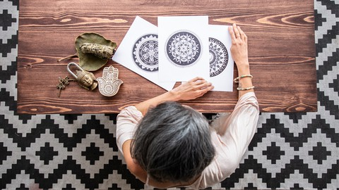 Learn to Draw Mandalas as a Mindfulness tool