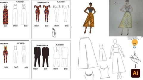 Learn Fashion Design on Adobe Illustrator: Beginner's Course Coupon