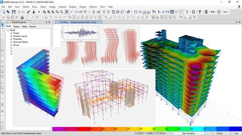 ETABS Intermediate Course: Structural Design of RCC Building