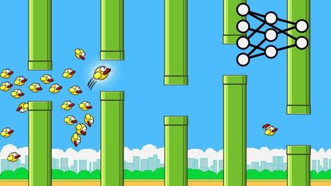 Flappy Bird NEAT AI