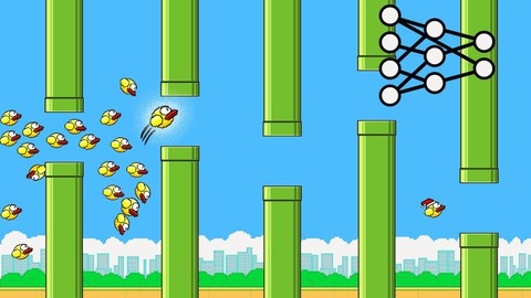 Netcurso-flappy-bird-neat-ai
