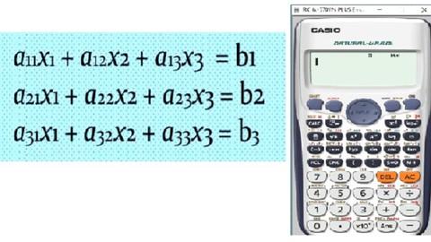 Netcurso-solution-of-simultaneous-equations