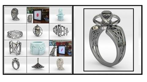 Personalised Jewellery Design Using Blender 2.9
