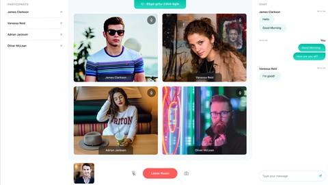 Twilio Video - Create Zoom Clone Video Conference App
