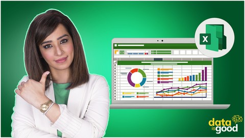 Excel Data Analysis Masterclass with Excel Dashboards Coupon