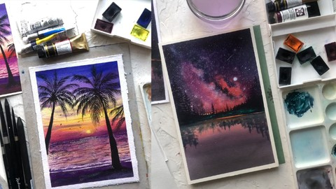 Watercolor Painting: A Guide for Beginnes to Advance Level Coupon