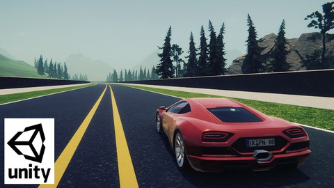 Make a driving game in unity