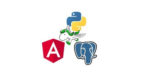 Full-Stack app with Angular 12, Python Django & PostgreSQL