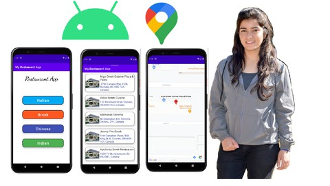 Netcurso-restaurant-application-and-google-map-apis-in-android-studio