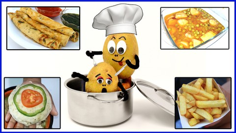 Indian Cooking Course -15 Unique Potato Recipes 2021 (Hindi) Coupon
