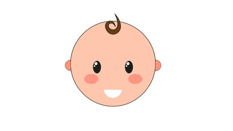Netcurso-basic-creation-and-animation-of-a-baby-in-illustrator-and-ae