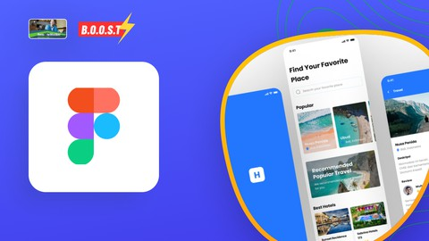 Complete UI Design Figma Holiday App Coupon