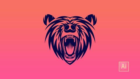Advance logo design: Bear mascot design project