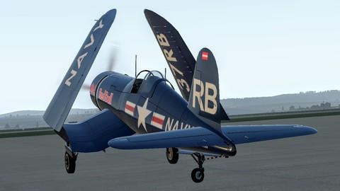 Netcurso-vought-corsair-f4u-flying-in-vr
