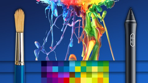How to Create Digital Art: Complete Fundamentals Course