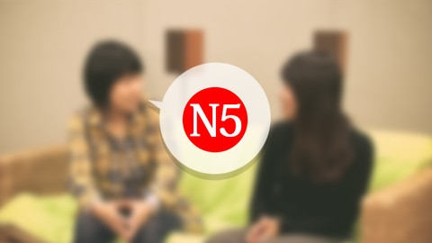 Online Japanese N5 Course(All 15 lessons)