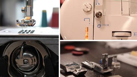 Técnicas para el manejo básico de la máquina de coser