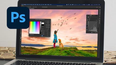 Adobe Photoshop CC - Fundamentos: Editar imágenes digitales.