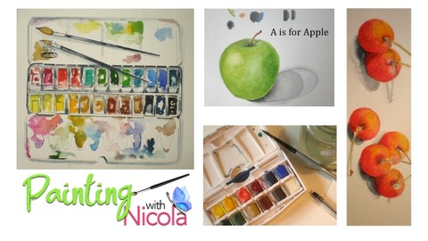 BEST SELLER Beginners Watercolor. Get clear on the BASICS.