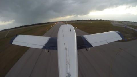 Airplane Crosswind Landings