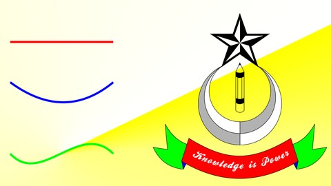 Corel Draw - From Straight Line to A Logo
