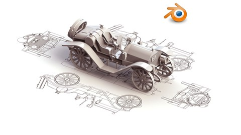 Learn 3D Modelling & Rigging in Blender 2.8x