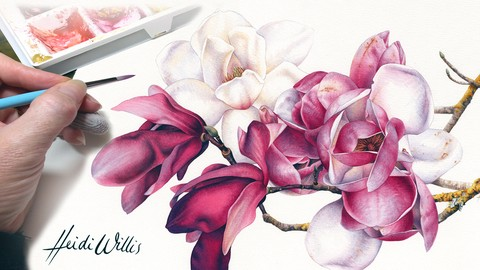 Paint Realistic Watercolor and Botanicals - STUDIO BASICS