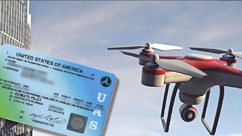 UAS FAR §107 FAA Drone Exam Preparation - INCLUDES NEW RULES