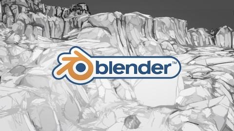 Netcurso-blender-27x-modelado-y-texturizado-enfocado-a-videojuegos
