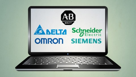 Learn 5 PLCs with AB, Siemens, Schneider, Omron and Delta Training