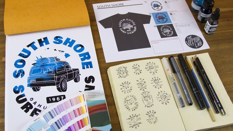 T-Shirt Design Workshop 02: Mixed Media Design