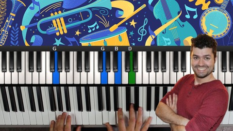 Blues Piano Lessons! A Course In Blues Piano & Improvisation - Resonance School of Music