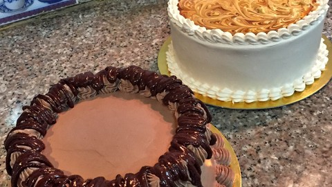 Making the best soft cake and Plated Dessert