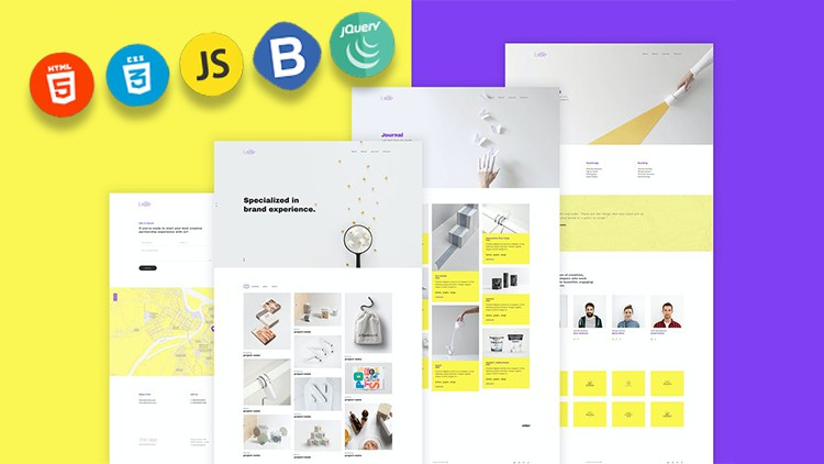 Build a real world responsive website with Html 5 css 3 & JS Coupon