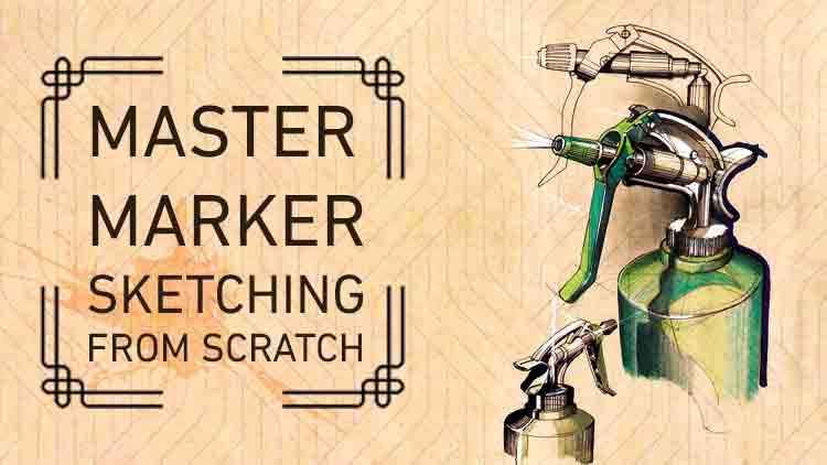 Learn Marker Drawing From Scratch to  professionality Coupon