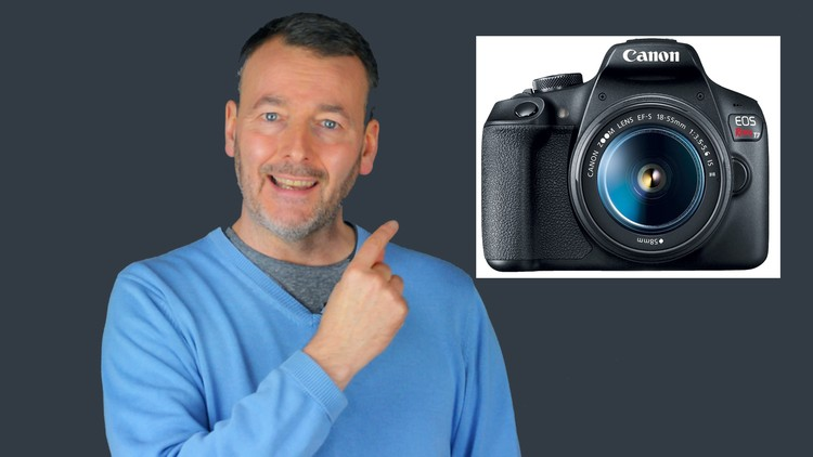 Photography - Canon  2000D/1500D/REBEL T7 Camera User Course