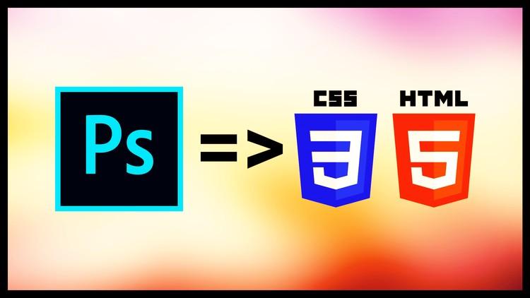 Learn PSD to HTML : Responsive Portfolio Website Design Coupon
