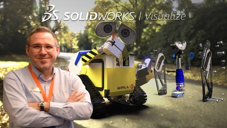 SOLIDWORKS Visualize ile Gerçekçi Renderlar