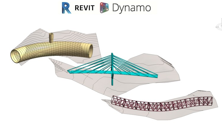 Revit 2020 and Dynamo 2.1 for Bridges Roads and Tunnels